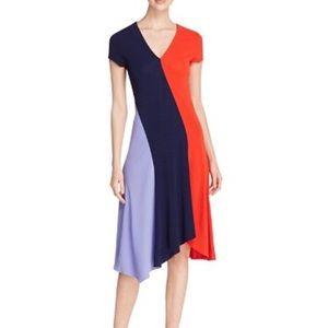 EUC Tory Burch Graphic Color Block Dress
